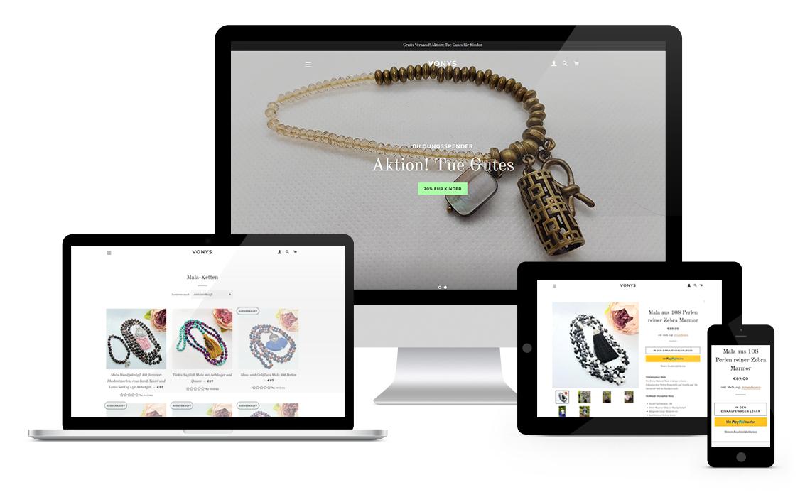 vonys.de Shopify